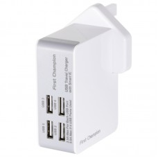 First Champion 4 x USB ports travel charger